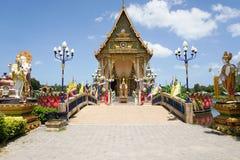 Буддийский висок Plai Laem на острове Samui Стоковые Фотографии RF