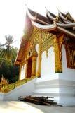 буддийский висок prabang luang Лаоса Стоковые Изображения