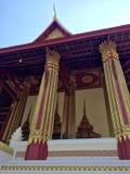 буддийский висок prabang luang Лаоса Стоковая Фотография