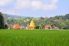 Буддийский висок Wat Sri Pho Chai спел висок Pha в провинции Loei, Таиланде Стоковые Изображения