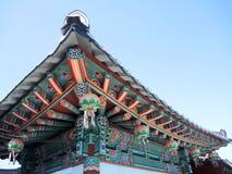 буддийский корейский висок стоковая фотография rf