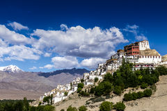 Буддийский монастырь в Индии Стоковое Фото