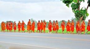 буддийский монах Таиланд Стоковые Фото