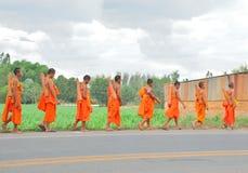 буддийский монах Таиланд Стоковое Фото