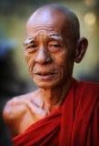 Буддийский монах стоковые фото