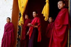 буддийский монах Стоковая Фотография