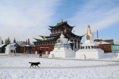буддийский скит Стоковая Фотография RF