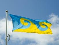 буддийский флаг Стоковое Фото