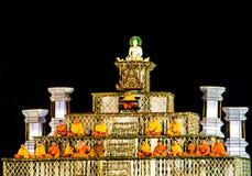 Буддийский этап Стоковые Изображения RF