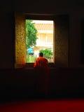 Буддийский - mai Таиланд chiang Стоковая Фотография RF