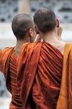 2 буддийских монаха, Таиланд Стоковые Изображения RF