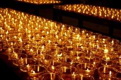 буддийское горение миражирует висок Стоковые Изображения RF