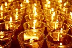буддийское горение миражирует висок Стоковое Изображение