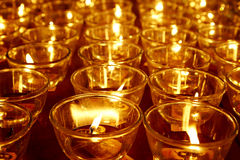 буддийское горение миражирует висок Стоковое фото RF