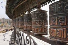 буддийское колесо молитве Стоковые Фотографии RF