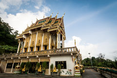 Буддийское святилище на Khao звенело висок Wat Khao звенело стоковые фотографии rf