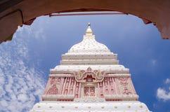 Буддийское святое место на Nakhonphanom, Таиланде Стоковая Фотография RF