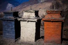 Буддийское stupa стоковое фото rf