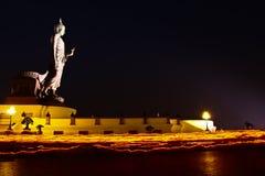 День Makha Bucha в Таиланде Стоковая Фотография