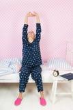 будить женщину Стоковые Фото