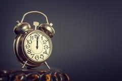 будильник старый Стоковое Изображение