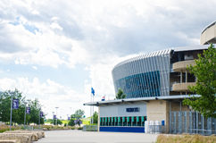 Будочка билета на стадионе Kauffman Стоковая Фотография RF