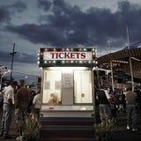 Будочка билета стоковое изображение