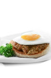Булочка завтрака Стоковое Изображение