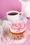 Булочка с кофе Стоковое Изображение RF