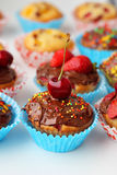 Булочка с ягодами Стоковое Фото