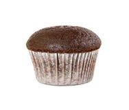 Булочка шоколада изолированная на белой предпосылке Стоковое Фото
