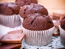 Булочки - булочки шоколада Стоковая Фотография RF