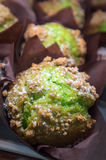 Булочки грецкого ореха фисташки Стоковое фото RF