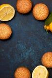 Булочки лимона Стоковое Фото
