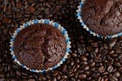 Булочки или торт кофе Стоковые Фотографии RF