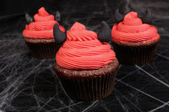 Булочки на хеллоуин Стоковая Фотография