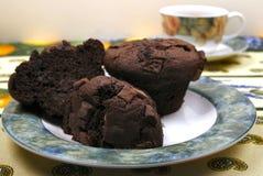 Булочки обломока шоколада Стоковое Фото