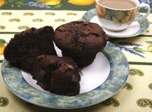 Булочки обломока шоколада Стоковые Фото