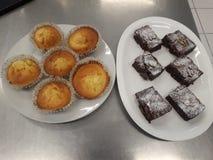 Булочки пирожных y стоковая фотография rf