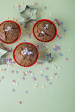 Булочки рождества закрывают вверх Стоковое Фото