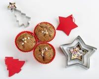 Булочки рождества закрывают вверх Стоковые Фотографии RF