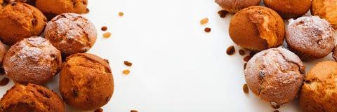 Булочки с изюминками Стоковая Фотография RF