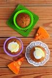 Булочки тыквы с соусом лимона Стоковое Изображение
