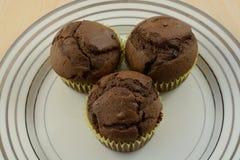 Булочки шоколада обломока шоколада Стоковые Изображения