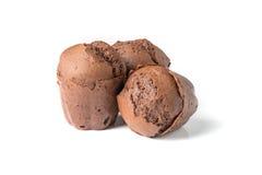 Булочки шоколада с изюминками Стоковая Фотография RF