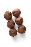 Булочки шоколада с изюминками Стоковые Изображения RF