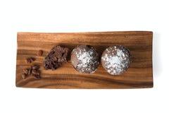 Булочки шоколада с изюминками Стоковое Фото