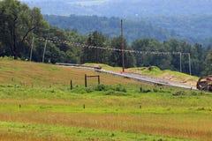 Будучи построенным газопровод Стоковое Изображение RF