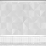 Будущая белая предпосылка дизайна Стоковое Изображение RF