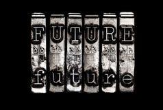 Будущая концепция времени Стоковая Фотография